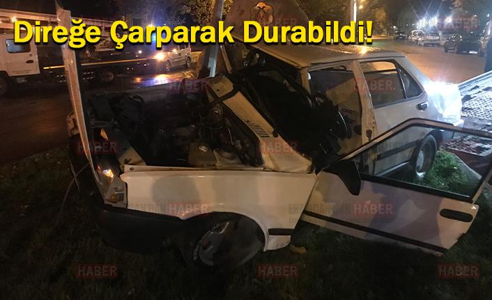 Kazada; 1'i Ağır 2 Kişi Yaralandı