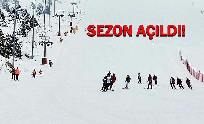 Ergan'da Kayak Başladı