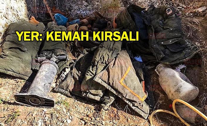 Terör Örgütüne Ait Yaşam Malzemeleri Ele Geçirildi