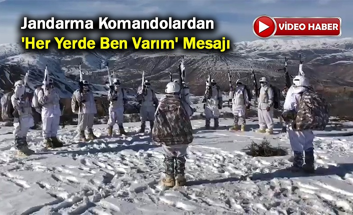 Karla Kaplı Zirvede Komando Marşı