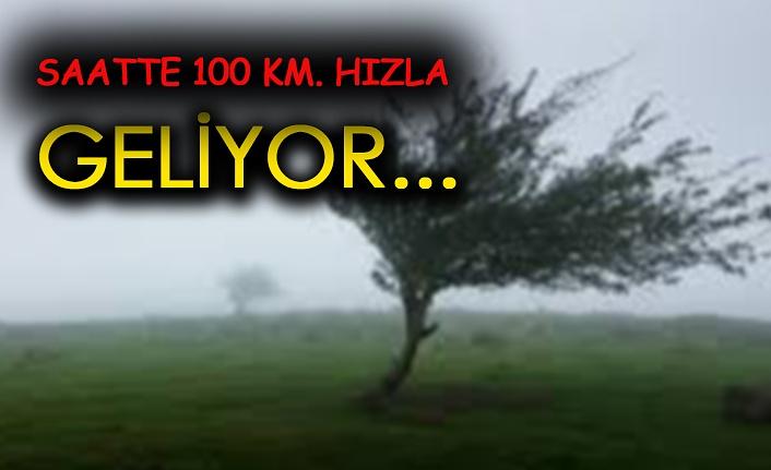 Kuvvetli Rüzgar ve Fırtına Uyarısı: Saat Verdi!