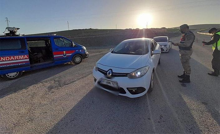 Erzincan'da bir mezra, karantinaya alındı