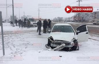 3 Araç Çarpıştı; 1 Yaralı