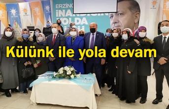 AK Parti Erzincan İl Kadın Kolları Olağan kongresi yapıldı