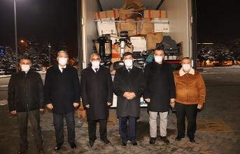 Erzincan Belediyesine Medikal Malzeme Desteği