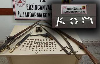 Erzincan'da Uyuşturucu ve Tarihi Eser Operasyonu!