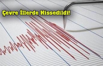 Otlukbeli'de deprem!