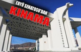 EBYÜ Senatosu ' İşgalci Ermenistan'ın saldırıları...