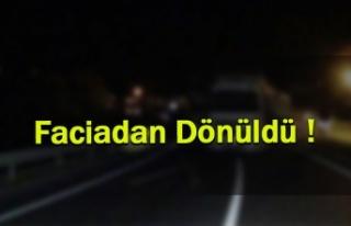 Erzincan'da Freni Boşaldı