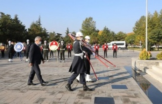 Atatürk'ü Anma Töreni Düzenlendi
