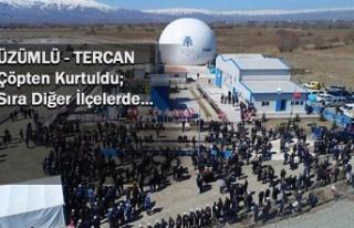 Erzincan'ın ilçelerinde vahşi çöp depolama...