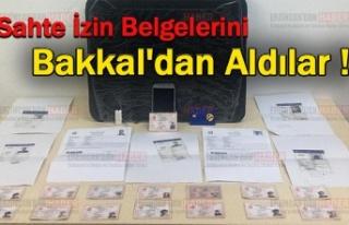 Göçmenlere sahte belge hazırlayan zanlı tutuklandı