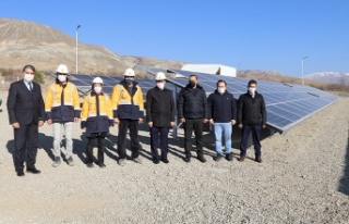 Erzincan Belediyesi, Güneş Enerjisi Santrali projesini...
