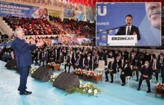AK Parti Erzincan 7. Olağan İl Kongresi yapıldı