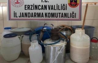 Erzincan'da Sahte İçki Operasyonu