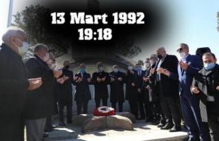 Erzincan Depreminde Yaşamını Yitirenler Anıldı