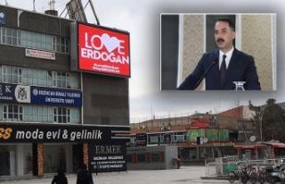 Şireci'den, 'Stop Erdoğan' yazılı ilanlara...