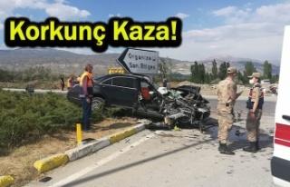 Kamyonla otomobil çarpıştı: 1 ölü, 3 yaralı